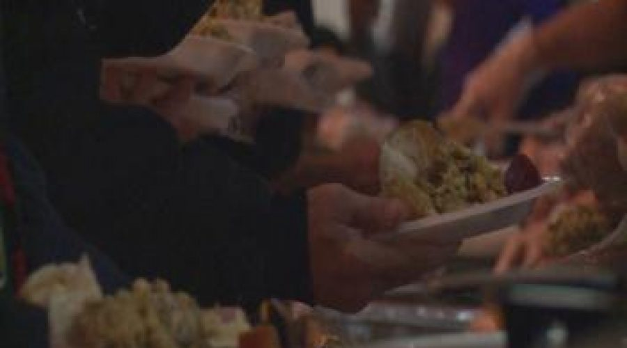 Thanksgiving meal feeds more than 100 homeless and struggling